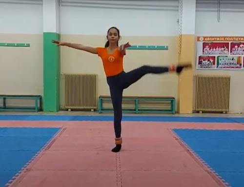 Ασκήσεις ενδυνάμωσης ποδιών με βαράκια